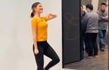 联发科AI角色功能演示,少女激情热舞图片