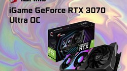 七彩虹iGame GeForce RTX 3070 Ultra OC显卡,超验装备