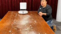 云米扫地机器人 智能集尘版产品开箱