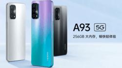 OPPO A93,骁龙双模5G,超大存储