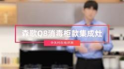 森歌Q8消毒柜款集成灶评测:爆炒净吸 不留油烟