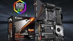 技嘉X570 AORUS PRO WIFI小雕PRO主板,支持WIFI6