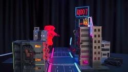我们拆了iQOO 7 打造了一座霓虹璀璨的微缩城市