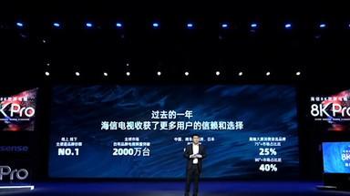海信8K Pro双屏电视新品发布会