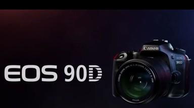 佳能EOS 90D宣传视频