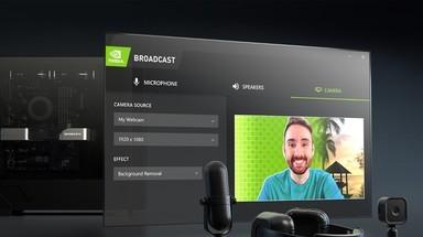 NVIDIA Broadcast软件直播体验