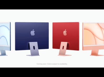 苹果 iMac 24英寸 2021宣传视频