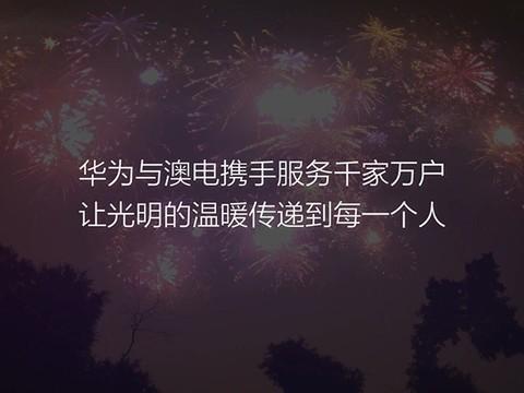 澳电胜利故事中文版