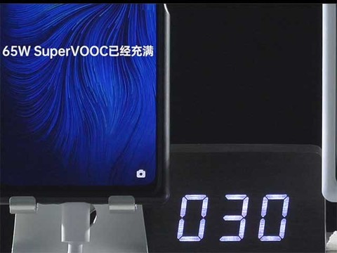 OPPO超级闪充65W对比视频