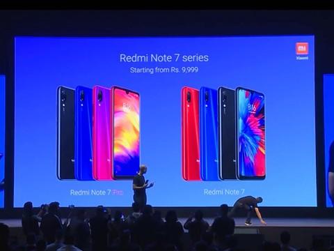 红米Note 7在印度的发布会