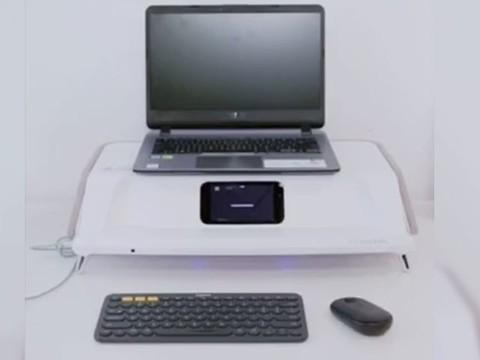 紫外线消毒功能 乐歌智慧健康工作站演示-3