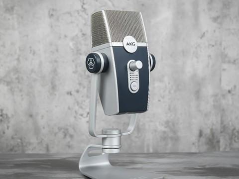 高保真原声录制 AKG LYRA专业USB麦克风评测