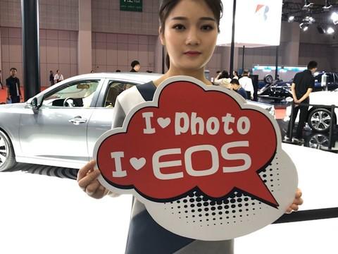 上海车展 佳能180°环拍精彩瞬间全回顾