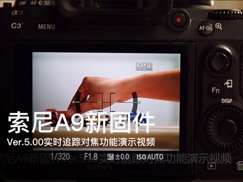 索尼A9新固件Ver.5.00实时追踪对焦功能演示
