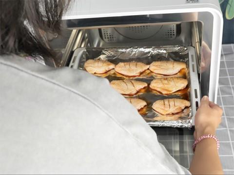 TOKIT电烤箱 鸡翅制作演示视频
