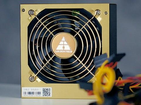 金牌好品质 金河田GF600G电源给你满电