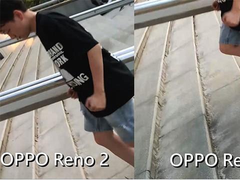 OPPO Reno2防抖对比