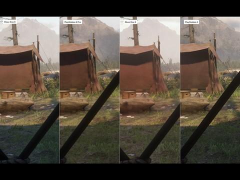 胡茬游戏:《大镖客2》各主机效果对比