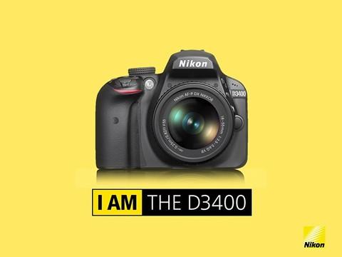 尼康 D3400官方产品介绍