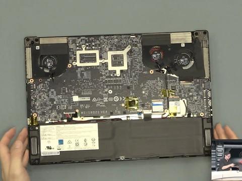 拆机pa:微星GS65拆机