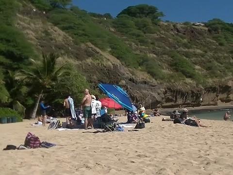 JVC:海滩拍摄沙滩