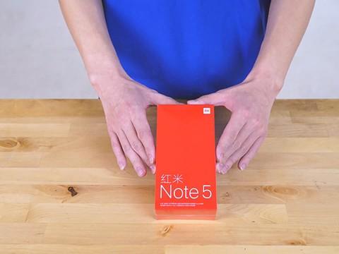 你一定没见过这么秀的红米Note 5开箱