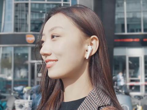和小姐姐一样有颜值的耳机,1MORE ComfoBuds真无线耳机