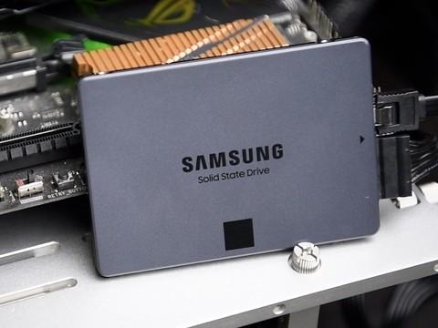 「三星 870 QVO」8TB消费级固态硬盘开箱?