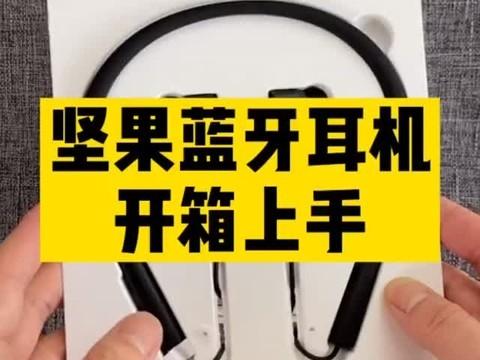 2020年你还在用有线耳机?看看坚果这款蓝牙耳机吧