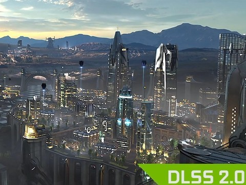 NVIDIA DLSS 2.0演示