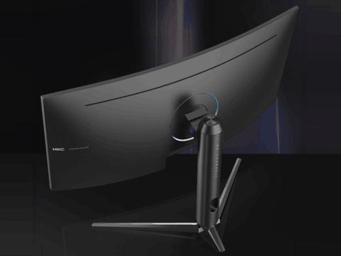 HKC C349U显示器,21:9带鱼屏