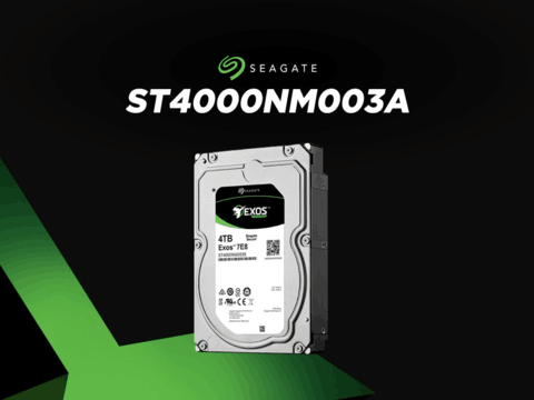 希捷银河Exos SAS硬盘企业级ST4000NM003A