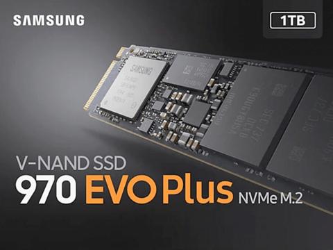 三星 970 EVO Plus NVMe M.2 SSD,性能不断提升