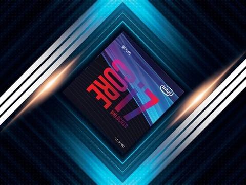 英特酷睿i7-9700 8核8线程CPU