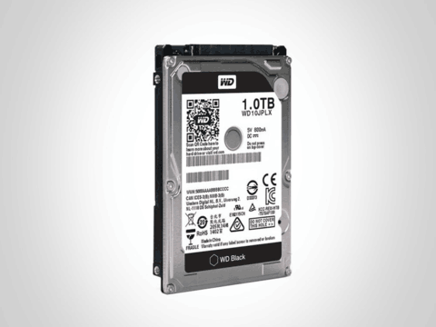 西部数据 1TB 7200转 32MB SATA3 黑盘