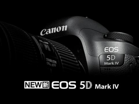 佳能EOS 5D Mark IV单反相机,全像素双核技术