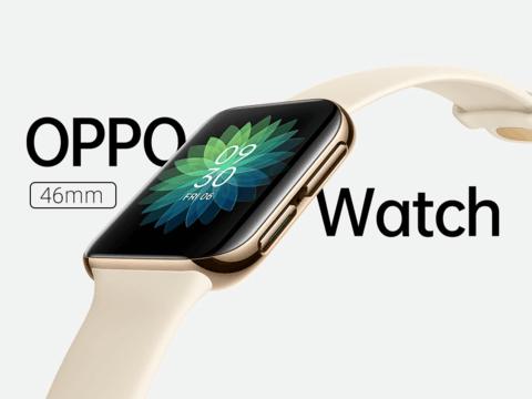 OPPO Watch 46mm,随时随地 手表联系