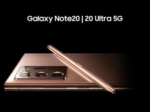 三星Galaxy Note 20 Ultra惊艳设计,强大性能