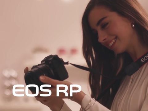 佳能EOS RP全画幅专业微单