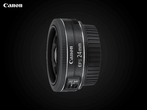 佳能EF-S 24mm f/2.8 STM自动对焦饼干镜头