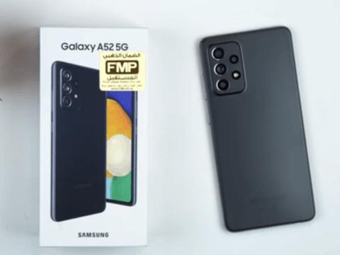 三星Galaxy A52开箱上手视频