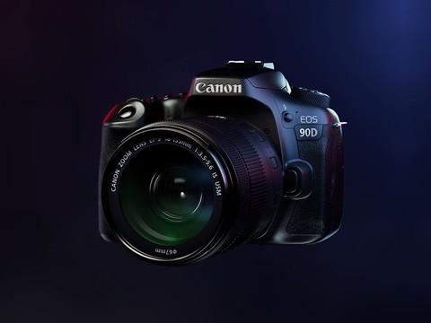 佳能EOS 90D,佳能新一代实力单反,精细高画质