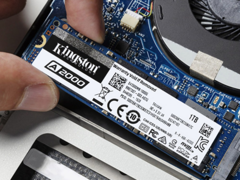 金士顿A2000 SSD,以实惠价格获得NVMe PCIe高速性能